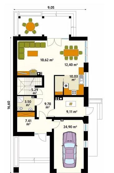 4 mẫu thiết kế nhà đẹp hiện đại ấn tượng. 3