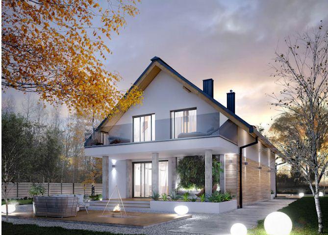 4 mẫu thiết kế nhà đẹp hiện đại ấn tượng kiểu nhà vườn. 5