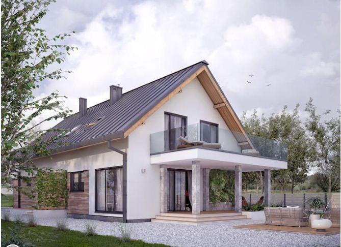 4 mẫu thiết kế nhà đẹp hiện đại ấn tượng kiểu nhà vườn. 6