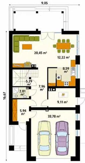 4 mẫu thiết kế nhà đẹp hiện đại ấn tượng. 7