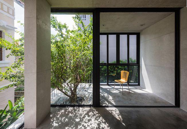 Biệt thự 3 tầng Sài Gòn tràn ngập sắc xanh. 8