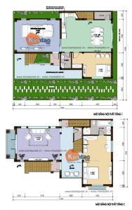 Biệt thự 4 tầng 12x15m cho nhà 3 thế hệ. 2