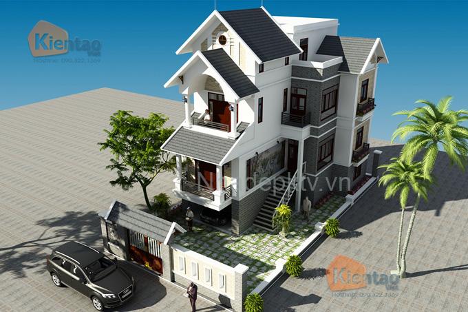 Biệt thự 4 tầng 12x15m cho nhà 3 thế hệ. 5