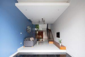 Thiết kế liên thông - Nhà đẹp 3 tầng