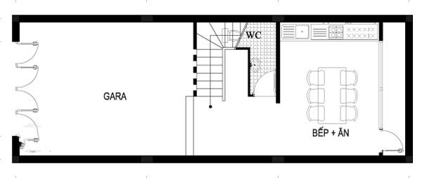 Nhà ống đẹp 3 tầng thông thoáng 4,5x13,4m. 2