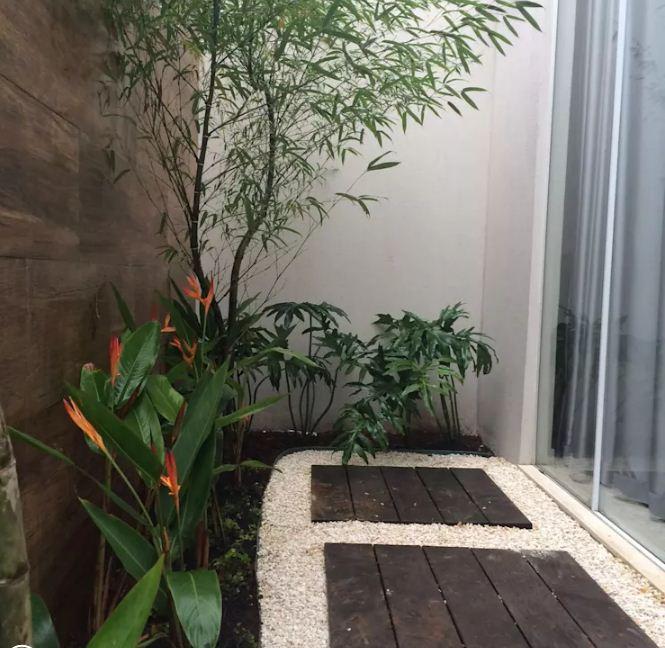 Thiết kế vườn sau cho nhà ống đẹp mê ly