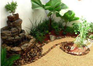 Tiểu cảnh sân vườn đẹp dẫn lối vào nhà bạn. 3