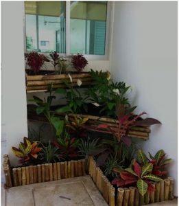 Tiểu cảnh sân vườn đẹp dẫn lối vào nhà bạn. 4