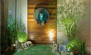 Tiểu cảnh sân vườn đẹp dẫn lối vào nhà bạn