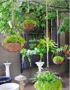 Tiểu cảnh sân vườn đẹp dẫn lối vào nhà bạn. 5