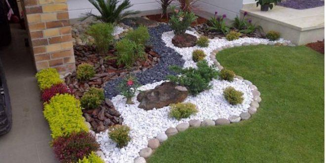 Tiểu cảnh sân vườn đẹp dẫn lối vào nhà bạn. 6
