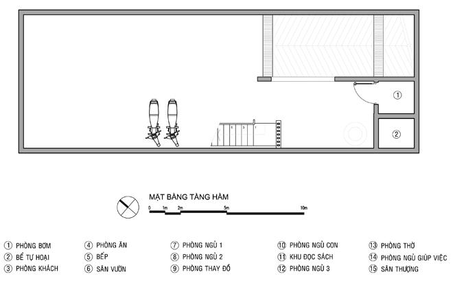 Tư vấn thiết kế nhà ống 4 tầng 6x20m. 1