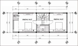 Nhà ống 4 tầng đẹp cho 3 thế hệ 4x12,5m. 4