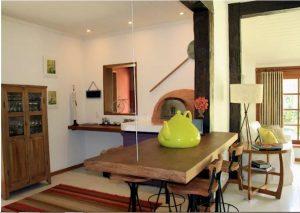 Nhà vườn 1 tầng bằng gạch thô đẹp mộc mạc. 2