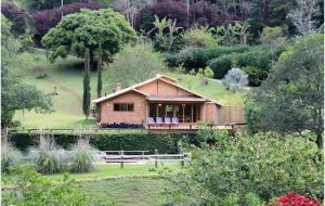 Nhà vườn 1 tầng bằng gạch thô đẹp mộc mạc. 6