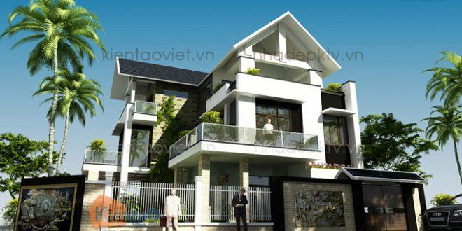 Nhà biệt thự đẹp 3 tầng 14x15m tại Nghệ An