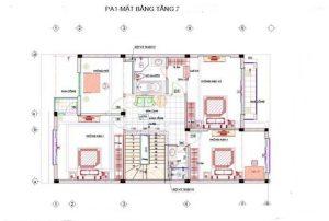 Biệt thự phố 3 tầng phong cách hiện đại 9x16m. 2