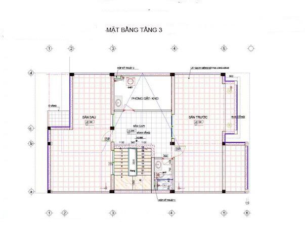 Biệt thự phố 3 tầng phong cách hiện đại 9x16m 3