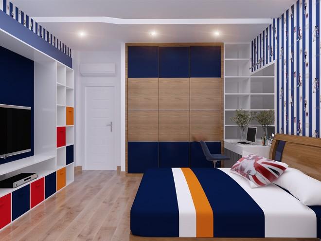 Thiết kế nhà đẹp 5 tầng DT 72m2 hiện đại cá tính-10