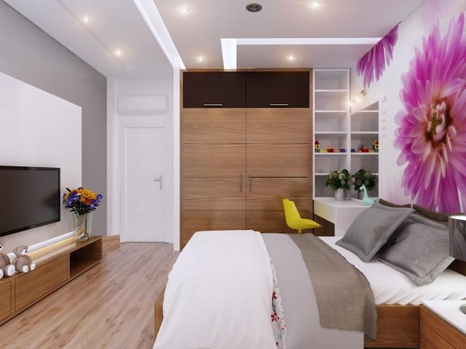Thiết kế nhà đẹp 5 tầng DT 72m2 hiện đại cá tính-11