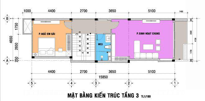 Thiết kế nhà đẹp 5 tầng DT 72m2 hiện đại cá tính-3