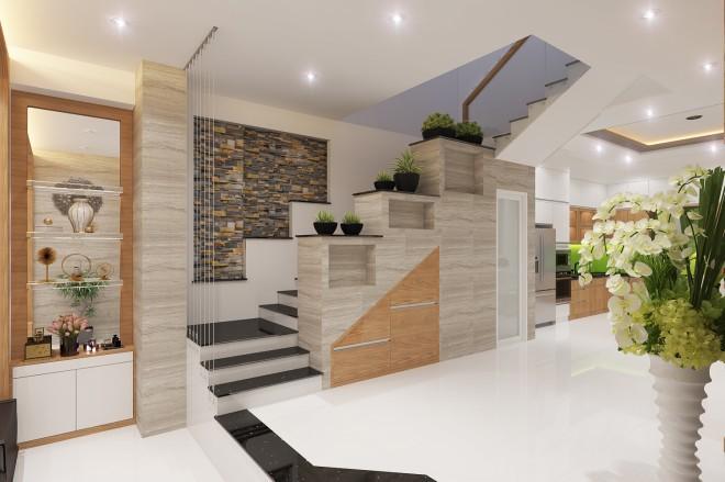 Thiết kế nhà đẹp 5 tầng DT 72m2 hiện đại cá tính-7