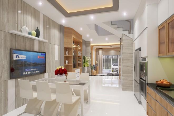 Thiết kế nhà đẹp 5 tầng DT 72m2 hiện đại cá tính-8