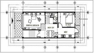 Thiết kế nhà ống 3 tầng hiện đại 5x11,8m. 3