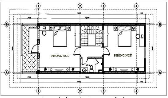 Thiết kế nhà ống 3 tầng hiện đại 5x11,8m. 4