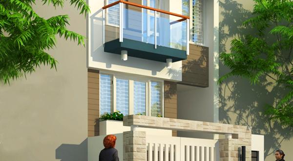 Thiết kế nhà ống 3 tầng hiện đại 5x11,8m
