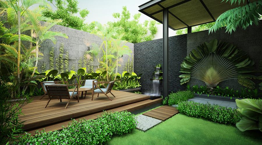 thiết kế tiểu cảnh sân vườn - 8
