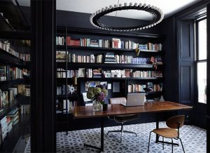 Thiết kế nội thất với tông màu Đen-Trắng