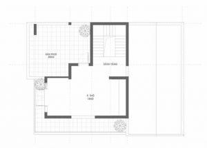 Mặt bằng công năng mẫu thiết kế biệt thự đẹp 3 tầng mái thái - 3