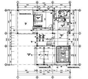 Mặt bằng công năng mẫu thiết kế biệt thự đẹp hiện đại - 1