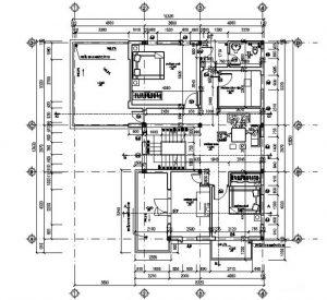 Mặt bằng công năng mẫu thiết kế biệt thự đẹp hiện đại - 2