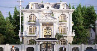 PC2 - Thiết kế biệt thự tân cổ điển châu Âu 150m2