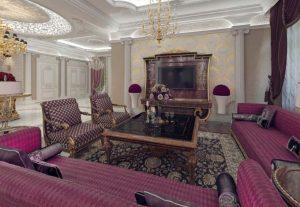 Phòng khách - Biệt thự tân cổ điển châu Âu sang trọng