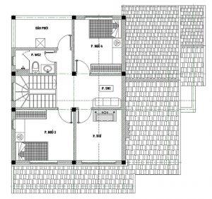 MB2 - Nhà biệt thự đẹp 2 tầng 4 phòng ngủ