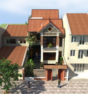 PC2 - Biệt thự 2 tầng có hầm tại Hà Giang