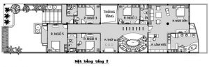 MB2 - Biệt thự 2 tầng có hầm tại Hà Giang