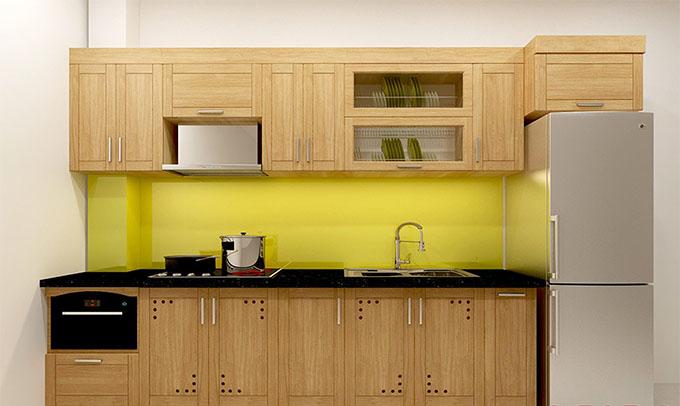 Phòng bếp nhà cấp 4 đẹp má bằng