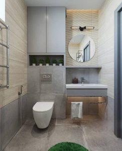 Nhà vệ sinh - Mẫu nhà cấp 4 mái bằng 3 phòng ngủ