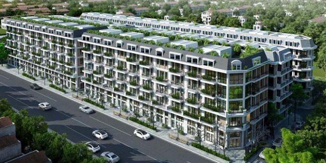 Dự án nhà phố liền kề Hải Ngân