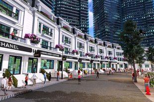 Khu nhà phố thương mại Shunshine City