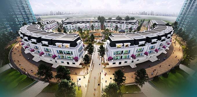 Tổng quan dự án nhà phố thương mại Sunshine City