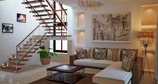 50 Mẫu phòng khách đẹp có cầu thang hot nhất 2020