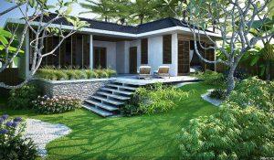 Không gian xanh chẳng khác khu nghỉ dưỡng là một trong những yếu tố làm nên sức hút
