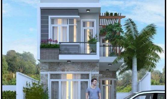 Mẫu nhà phố 2 tầng 5 × 15 tại Vĩnh Phúc