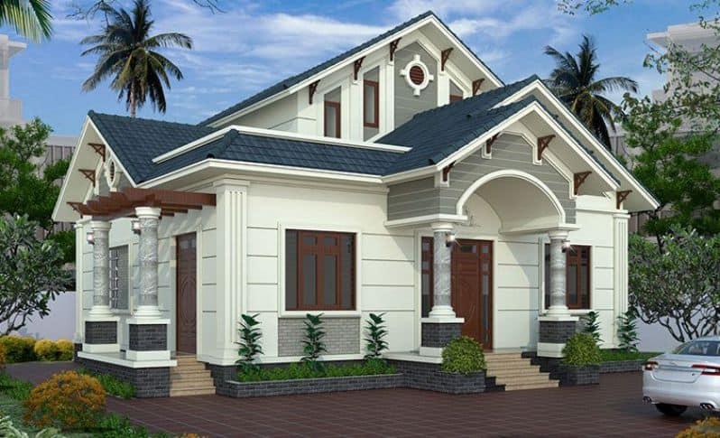 Nhà mái thái là kiểu nhà đang được các chủ đầu tư lựa chọn