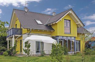 Mẫu thiết kế nhà 2 tầng mái thái